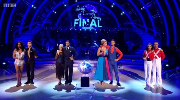 <strong>Joe faced Alexandra Burke, Debbie McGee and Gemma Atkinson in the final</strong>
