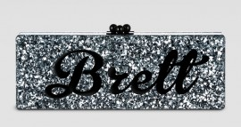 Edie Parker?s Nameplate Clutches Now Available to Everybody