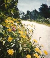 Yellow Daisies San Francisco 1999