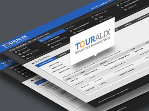 Touralix UI design