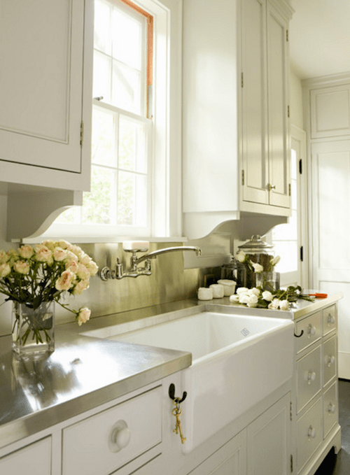 Apron-front, farmhouse sink options... and why I decided ... on Farmhouse Countertops  id=58428