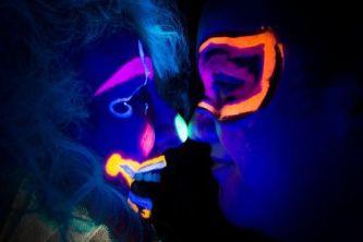 UV Photoshoot with Bea Noir