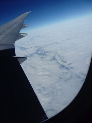Over Greenland