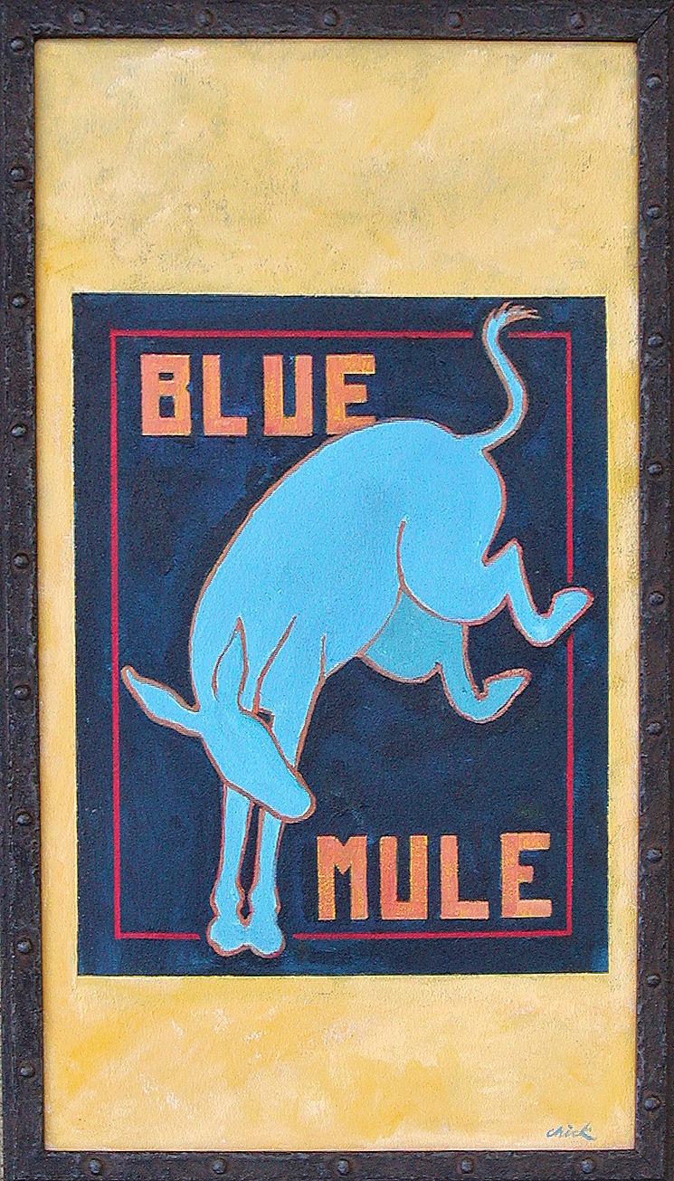 Blue Mule