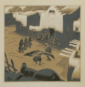 Eagle Ceremony at Tesuque Pueblo