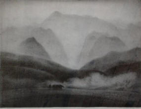 """El Tranquillon"" by Milford Zornes"