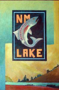 New Mexico Lake