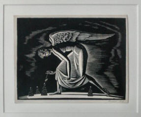 Christmas Angel by Rockwell Kent