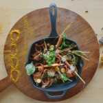 Cast Iron Grilled Tandoori Carrots