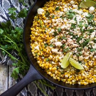 Easy Mexican Skillet Corn