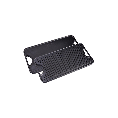 "Cast Iron Large Reversible Griddle 18.5"" x 10"""