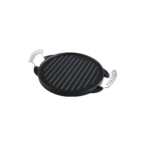 Round Reversible Cast Iron Griddle