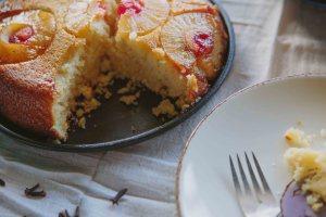 Cast Iron Pineapple Upside Down Cake