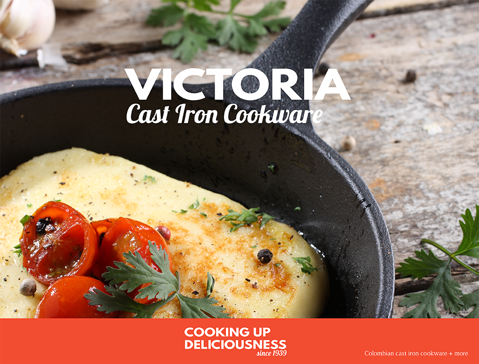 Victoria Cast Iron Cookware Mini Skillets