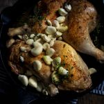 40 Clove Garlic Chicken with White Wine - Adapted from New York Times