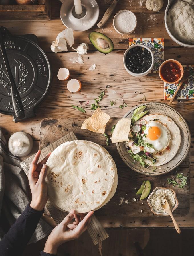 Wheat Flour Tortilla Press Recipe