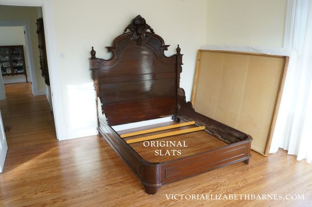 We Got This Fantastic Antique Bed On Craigslist But It S Only A Full