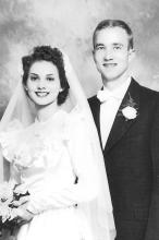 Mom-Mom and Pop-Pop got married on October 21, 1950.