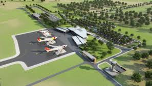 Artists Impression of Nacala Airport