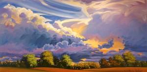 Gothic Clouds 48x24