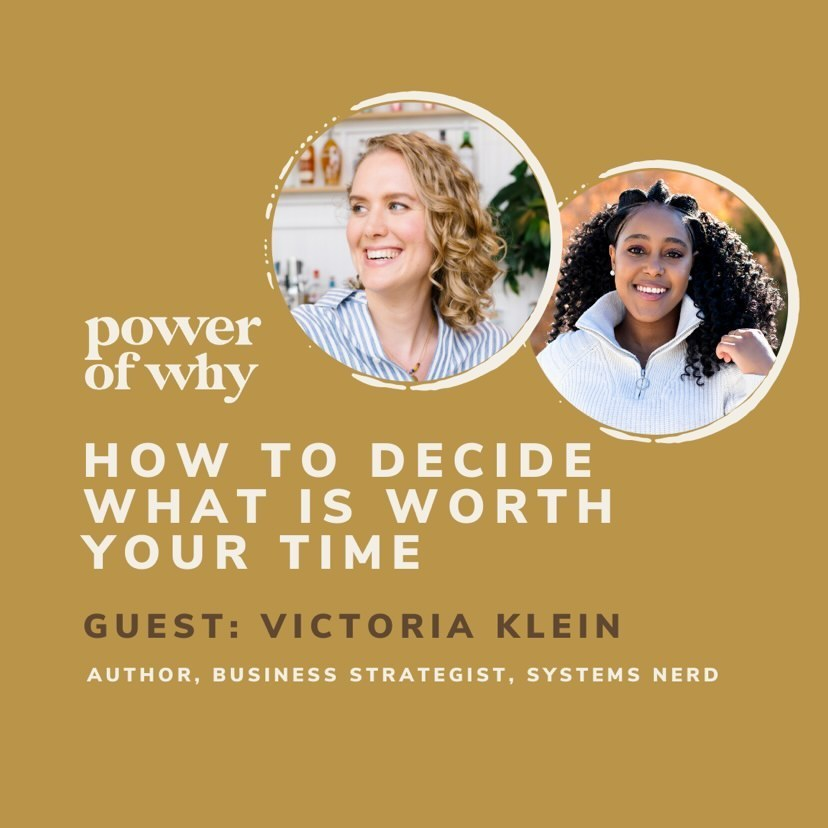Power of Why podcast with Victoria Klein
