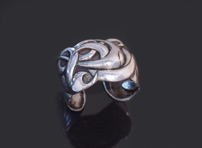Circe's Revenge, Eastern repousse cuff bracelet