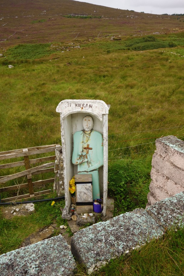 A site holy to Saint Kieran in County Donegal.