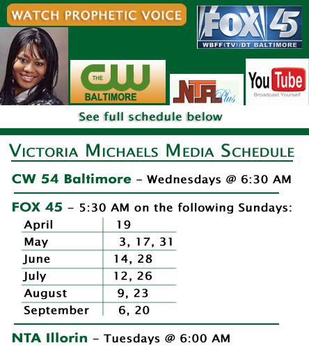 Victoria Michaels Media Schedule