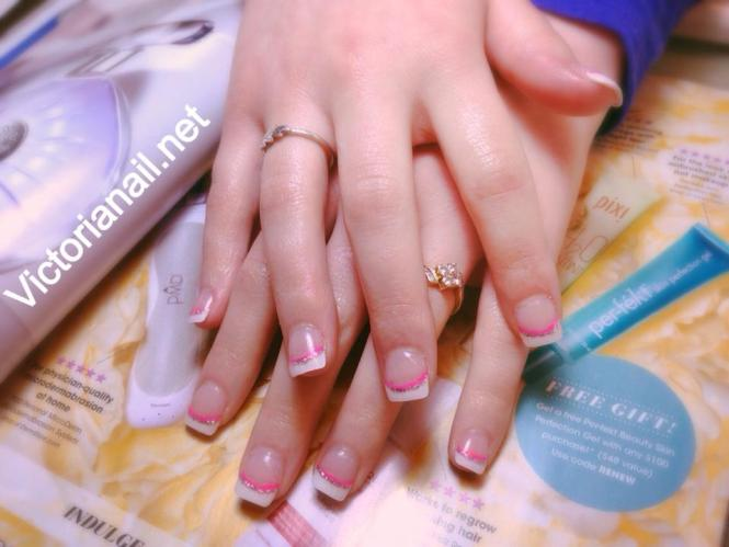 French Tip Acrylic Nails Designs How You Can Do It At Home Pictures For The Nail