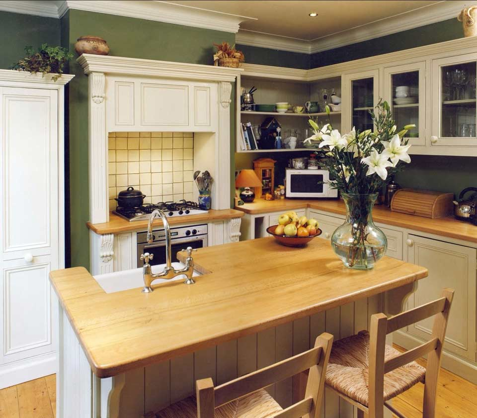 Small Compact Kitchens The Victorian Kitchen Company