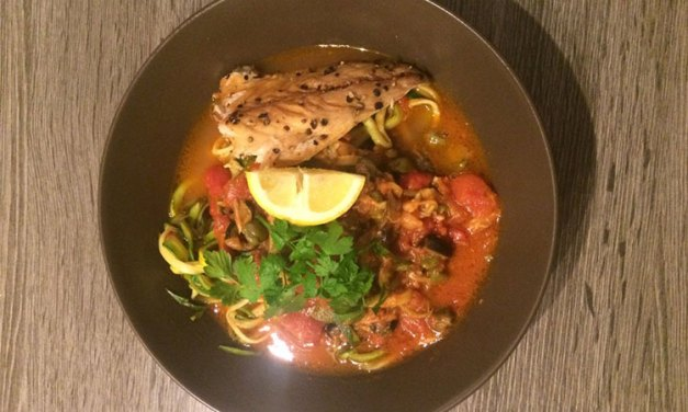 Fishy tomatensoep