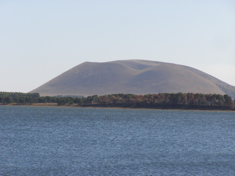 Mt Elephant - one of the many well known volcanoes on the VVP
