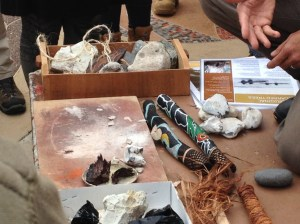 some of the materials used for tool making