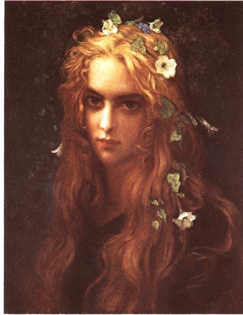 Ophelia By Antoine Auguste Ernest Hebert 1817 1909