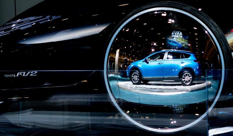 Toyota reflection