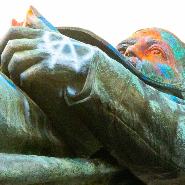 Albert Pike statue removal