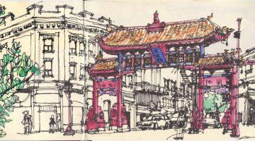 Victoria City Sketches