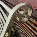 Iron work detail
