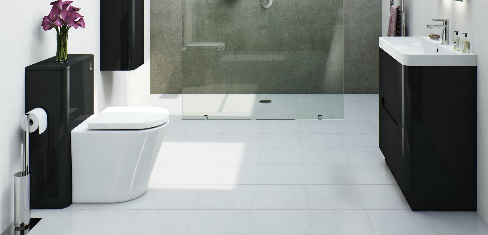 8 reasons why a monochrome bathrooms work | VictoriaPlum.com on Monochromatic Bathroom Ideas  id=15084