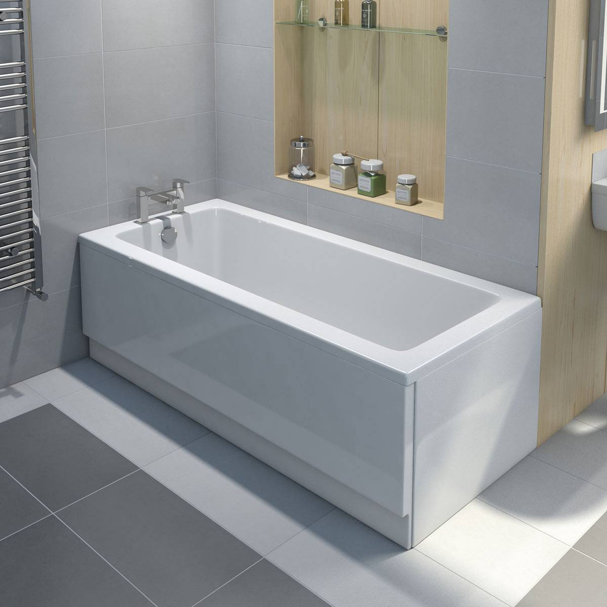 Acrylic V Steel Baths Which Is For Me Victoriaplum Com