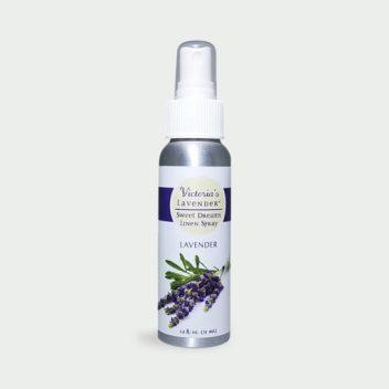"""Sweet Dreams"""" Linen Spray - Victoria's Lavender"""