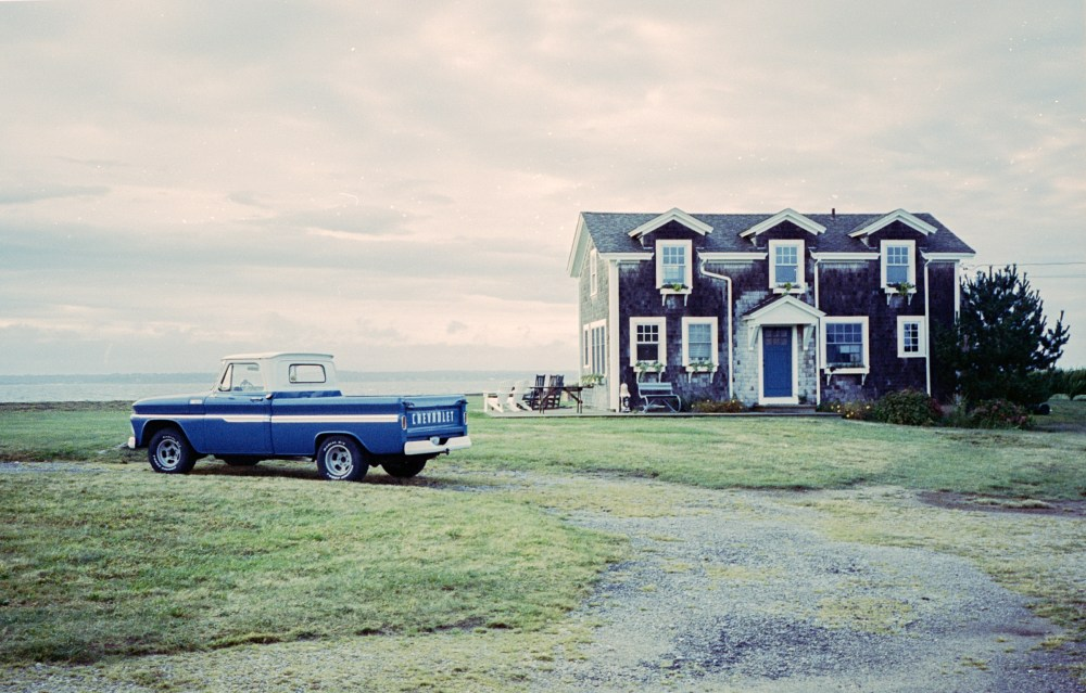 House of the Owner of the Blue Chevy