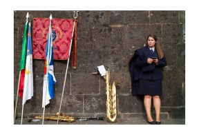 Younger Woman and a Trombone