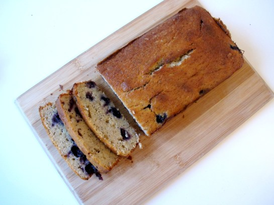 Blueberry Lemon Poppy Seed Banana Loaf