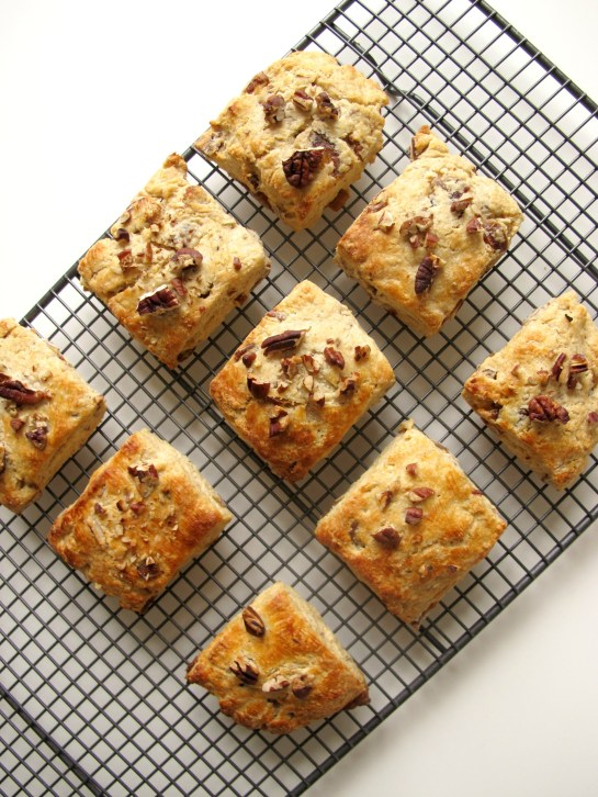 Date and Pecan Buttermilk Scones