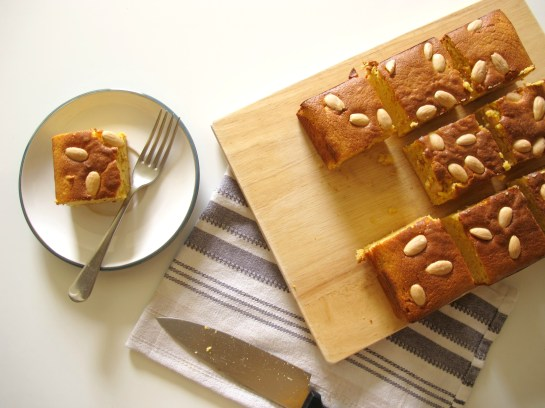 Sour Orange and Spice Almond Gluten Free Cake