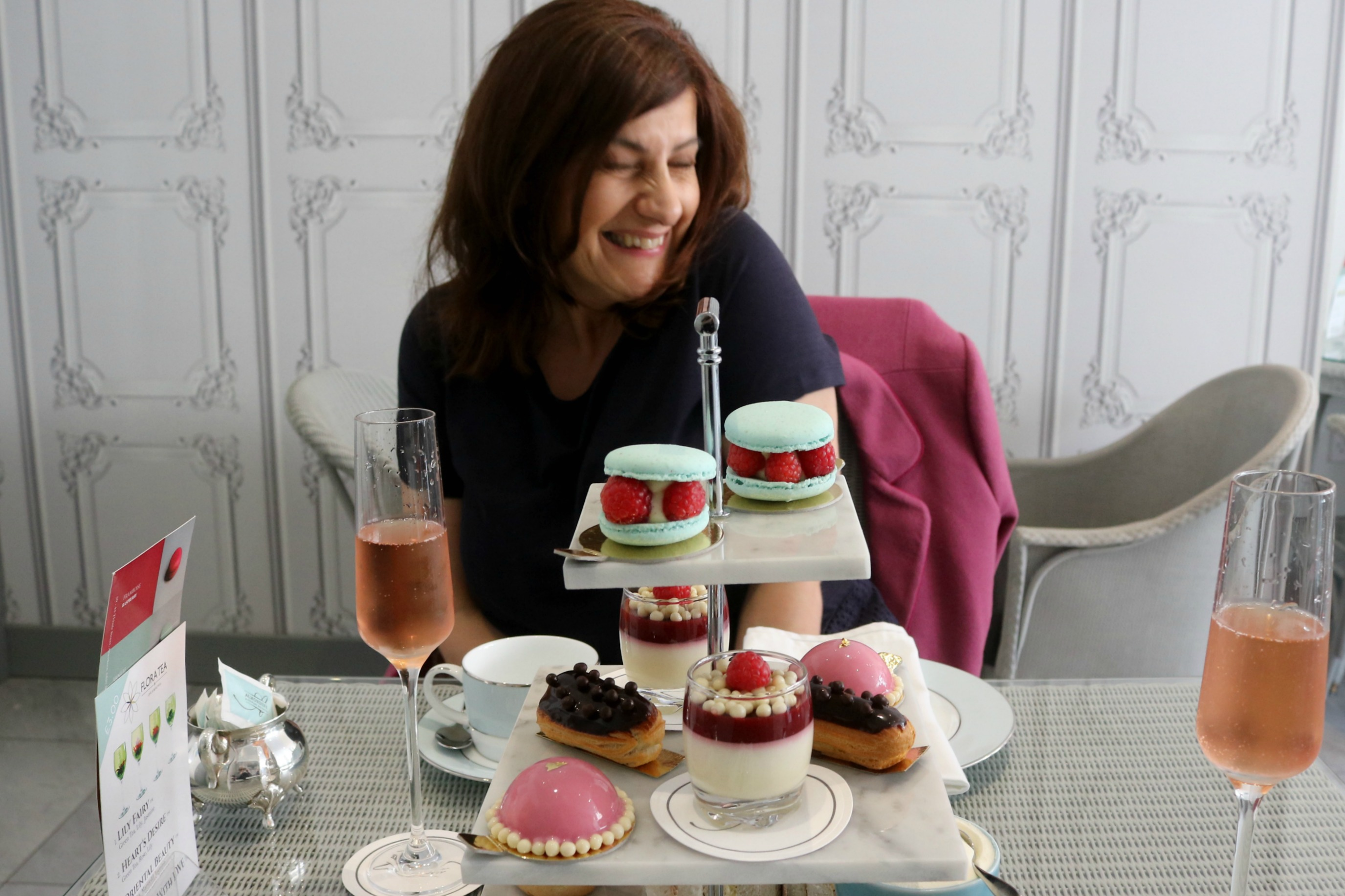 A Macaron Afternoon Tea, Cocktails and Why I Love My Mam