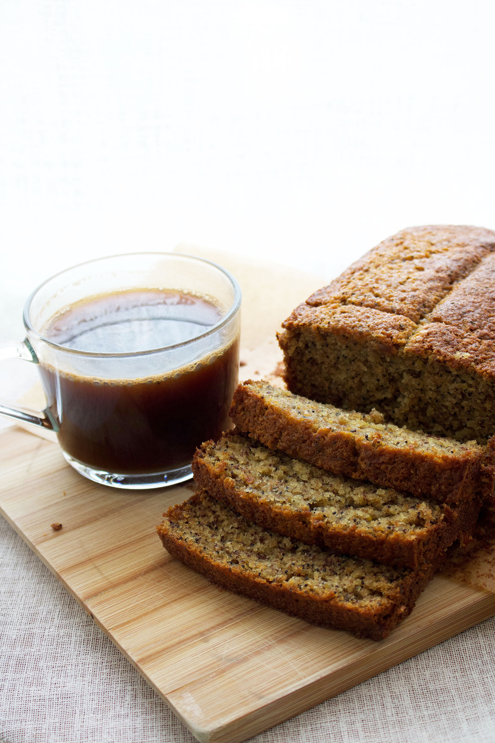 One Bowl Lemon and Poppy Seed Banana Loaf