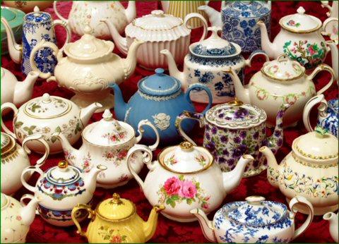 Tea & Coffee & Chocolate Pots (1/5)