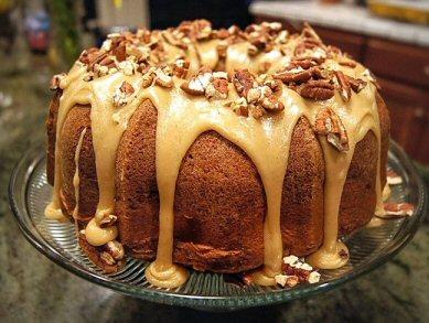 Recipes - Southern Apple Cream Cheese Bundt Cake (1/5)